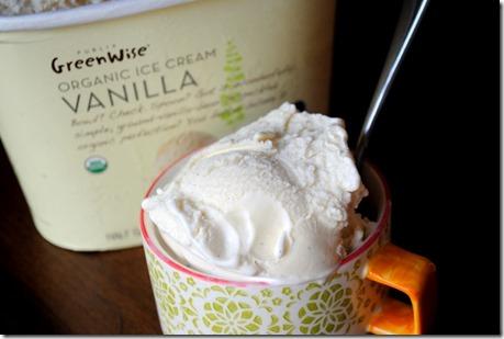 Publix Organic Vanilla Ice Cream