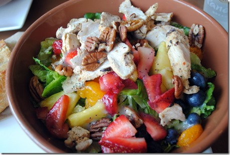 Strawberry Poppyseed Salad Panera