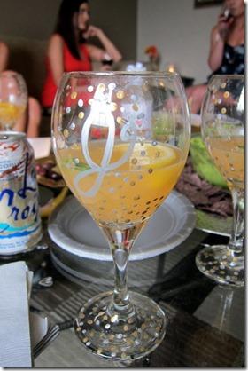 basil citrus sangria
