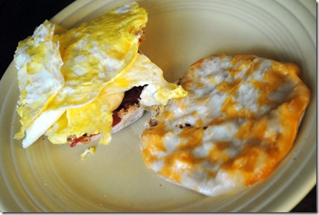 breakfast egg sandwich