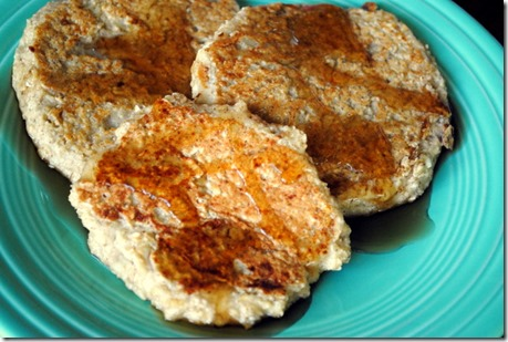 protein pancakes with cottage cheese and oatmeal