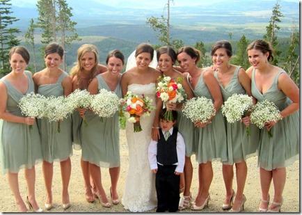 Bridesmaid Dresses Mint Green