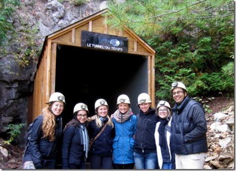 Cave in Quebec
