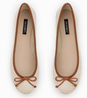 ShoeMint Flats with Bows