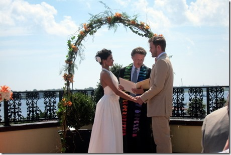 Wedding at the White Room in St. Augustine