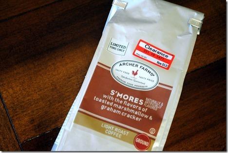 archer farms s'mores coffee