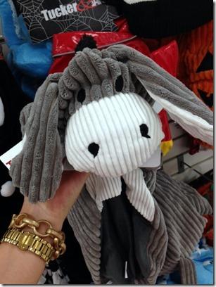 donkey costume dog