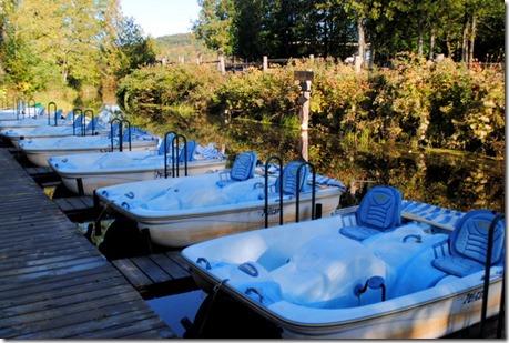 paddle boating Quebec