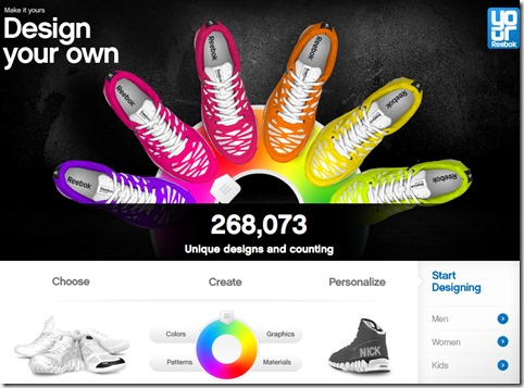 Design Your Own Reebok Shoe