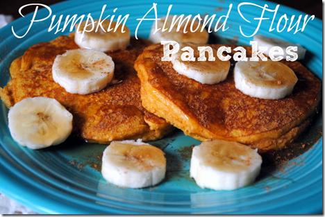 Pumpkin Almond Flour Pancakes
