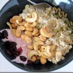 oatmeal cashews