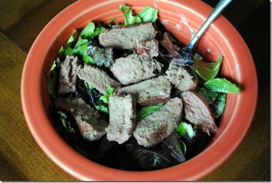 steak caesar salad