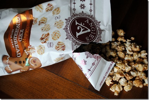 Angie's Gingerbread Popcorn