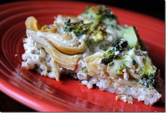artichoke broccoli quiches