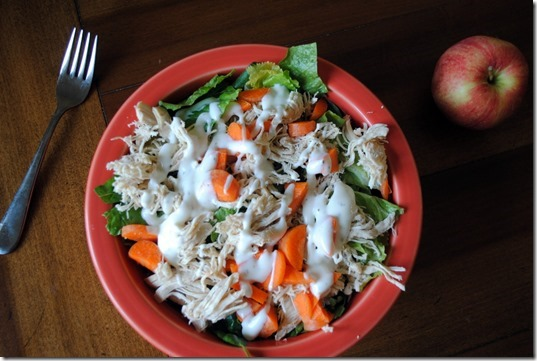 chicken salad with ranch