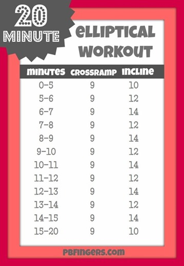 20-Minute-Elliptical-Workout