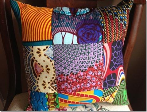 African Throw Pillow