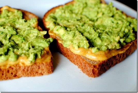 Avocado Toast with Agave Mustard