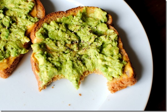 Avocado Toast with Cracked Pepper