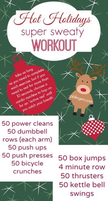 Hot Holidays Workout