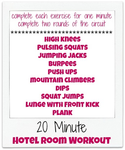 Collection of Boot Camp Workouts - Peanut Butter Fingers