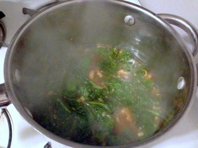 Blue Apron Udon Noodle Soup
