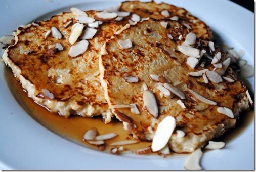 Orange Marmalade Pancakes