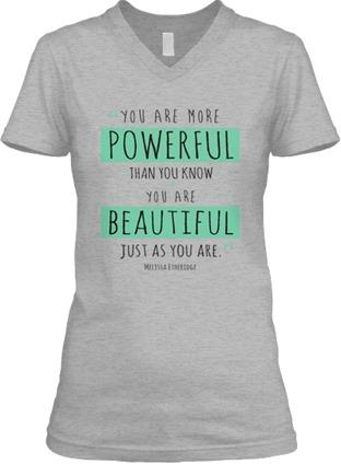 Powerful Beautiful Women t-shirt