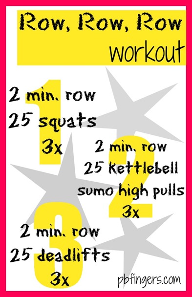 Row Row Row Workout