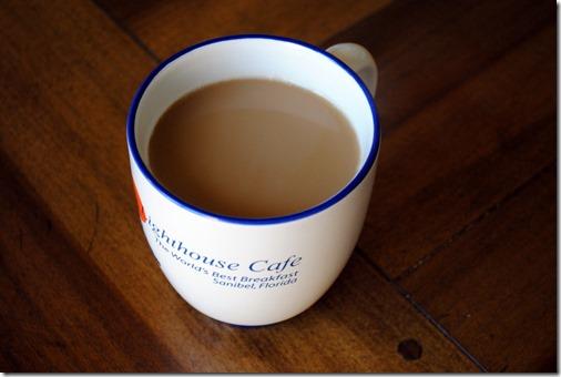 coffee with eggnog
