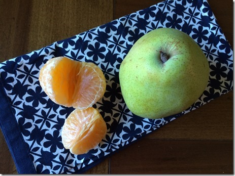 tangerine pear