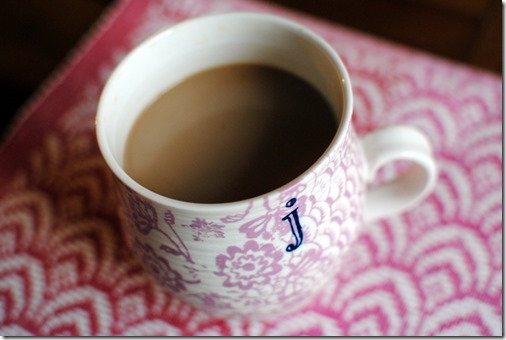 Anthropologie J Mug
