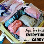 Carry On Suitcase Packing Tips