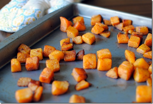 Easy Cinnamon Roasted Butternut Squash