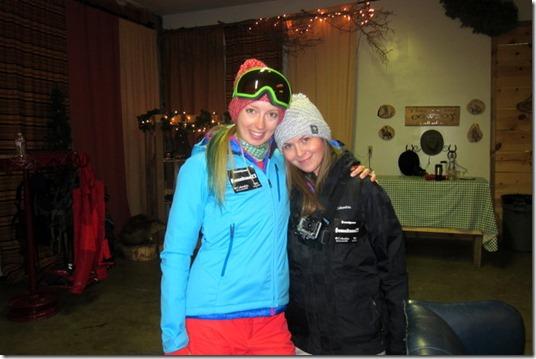 Heidi and Anne