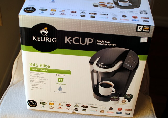 ryan and i traded in my old keurig for a new one at bed bath and beyond yesterday yes they really do let you pick out a brand new keurig when you - Keurig Elite K45