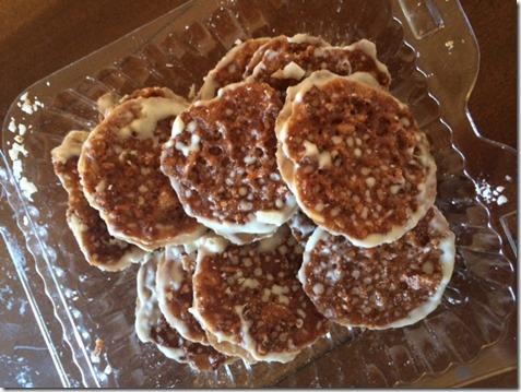 Publix Lace Cookies