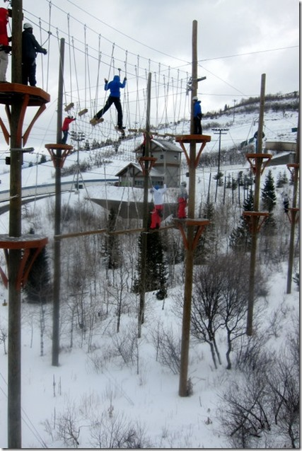 Ropes Course Park City