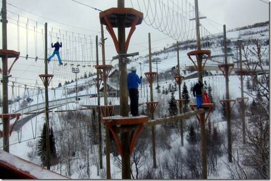 Ropes Course at Utah Olympic Park