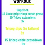 Targeting Triceps Workout