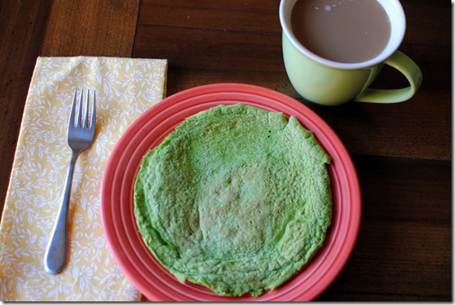 Green Protein Pancake Recipe