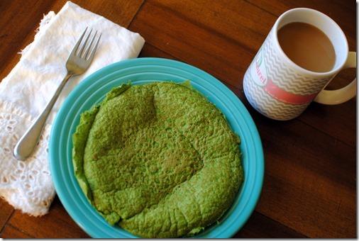 Green Protein Pancakes