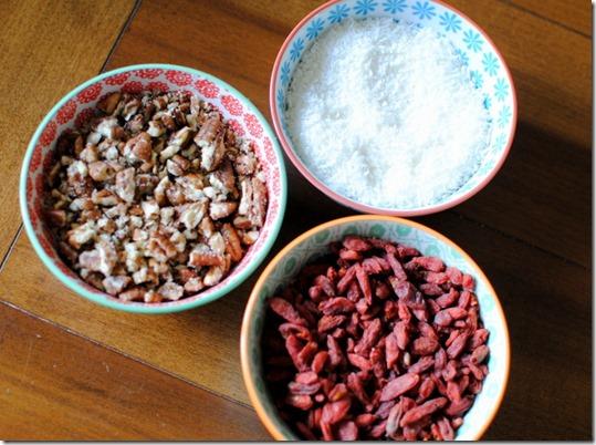 Healthy Granola Bar Ingredients