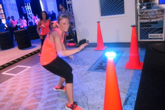 443fe8cfb6b7 I would LOVE to have access to this obstacle course at the gym for some  HIIT training! It was intense but a lot of fun and I know I d have a great  ...