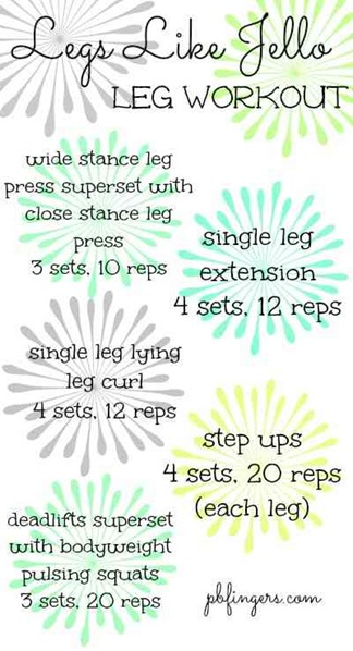 Legs Like Jello Workout
