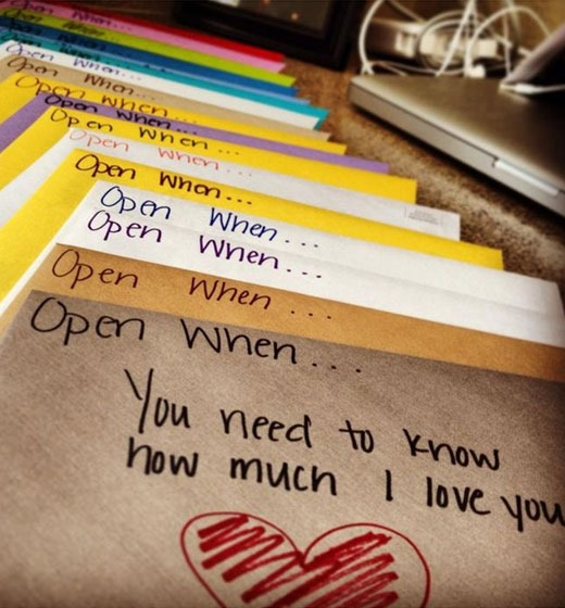 Open When Envelopes For Your Best Friend: Valentine's Day Gift Ideas: Budget Friendly