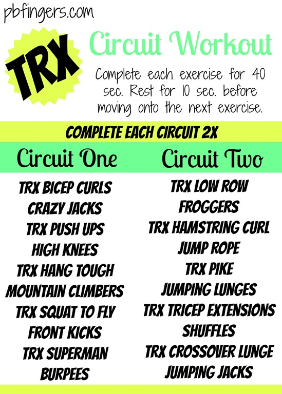 Image Result For Circuit Training Workouta