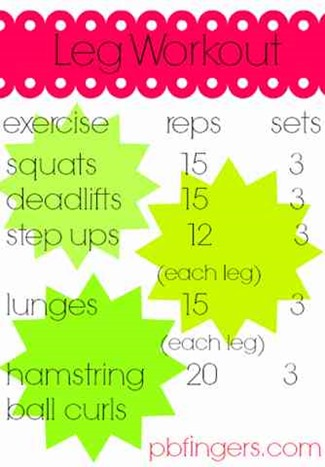 Targeting Legs Workout