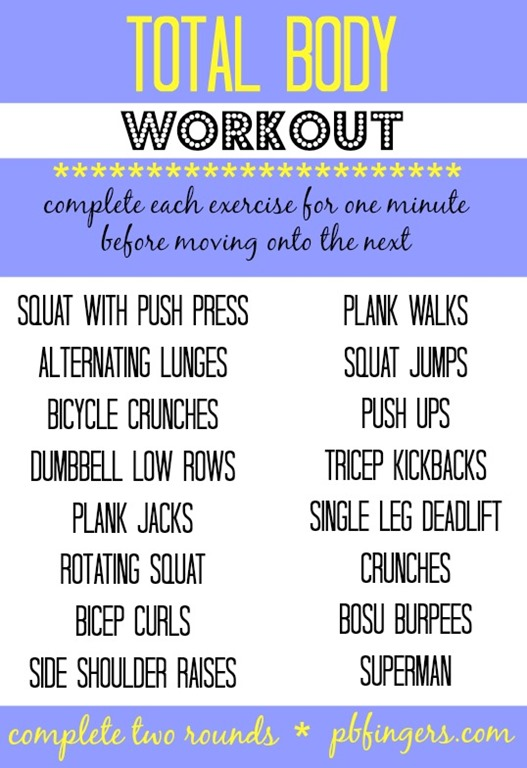 How to Do a Full Body Workout in Less Than 5 Minutes
