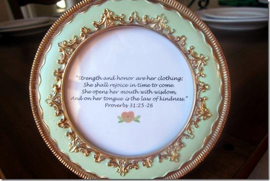 Bible Verse Bridesmaid Gift